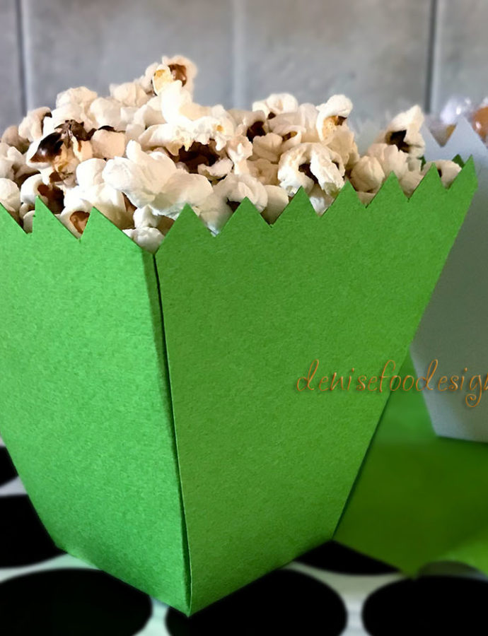 DESIGN AND ASSEMBLY OF A POPCORN AND CANDIES PACKAGE