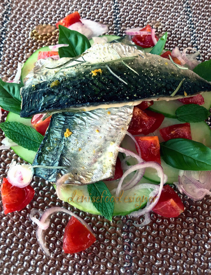 DELICATE MACKEREL FILLETS