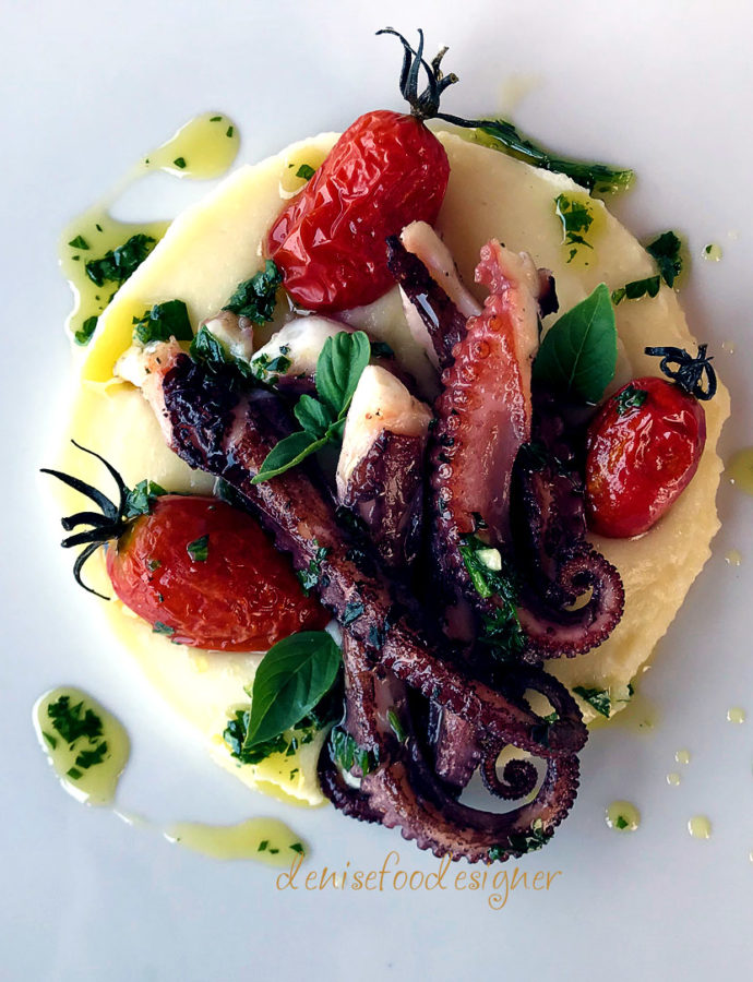 OCTOPUS, POTATOES AND PARSLEY