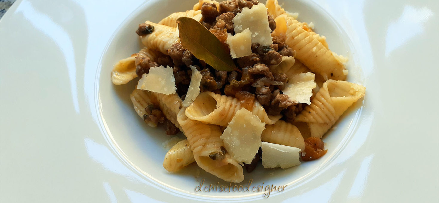 GARGANELLI WITH DUCK RAGÙ