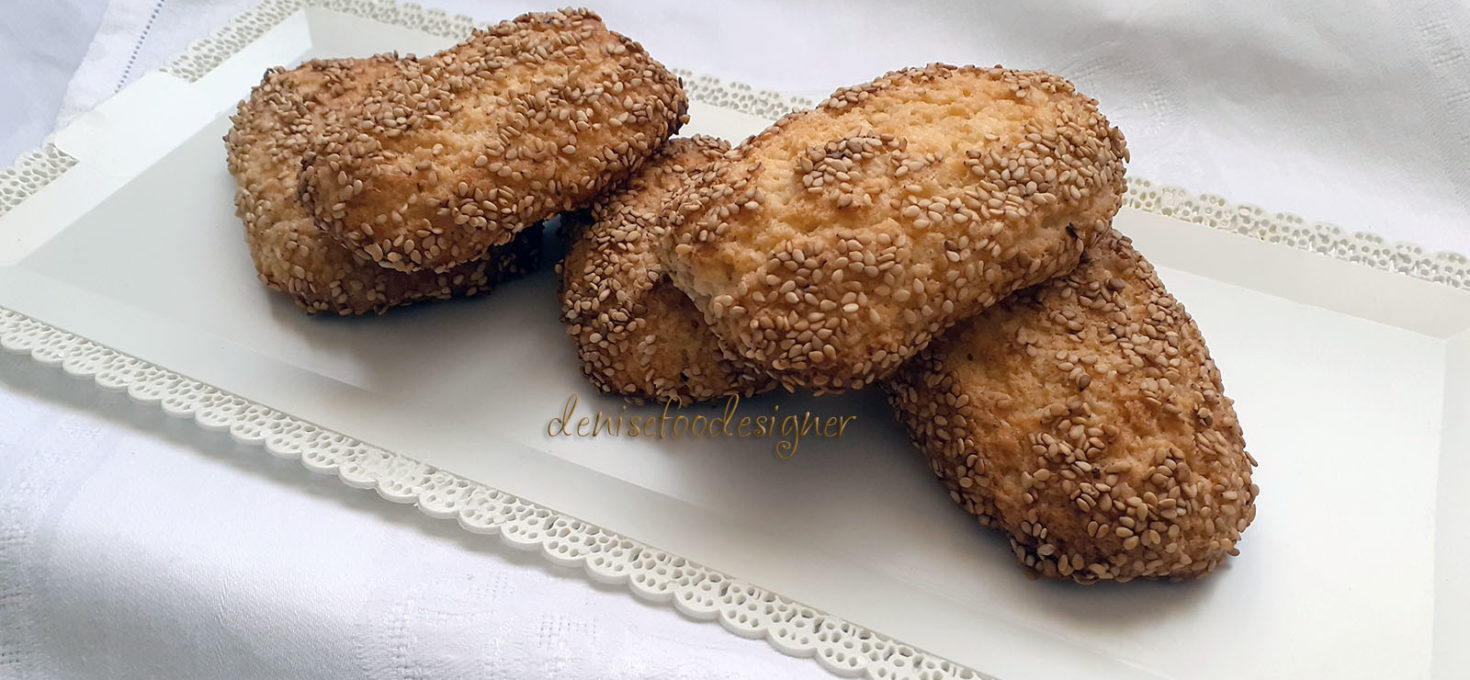 WHITE SESAME SEEDS BISCUITS